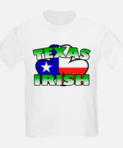 Texas Irish Shamrock T-Shirt