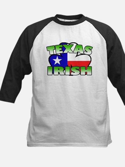 Texas Irish Shamrock Kids Baseball Jersey