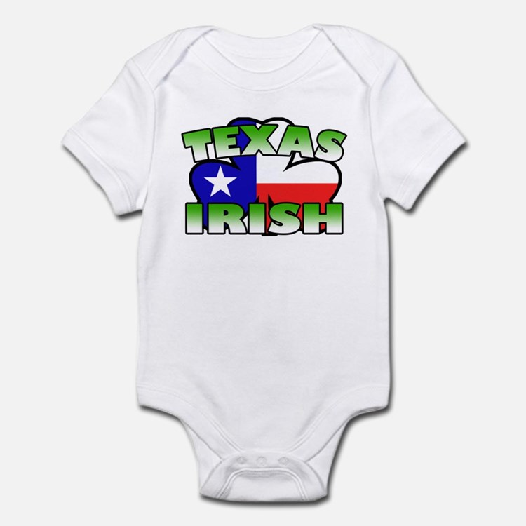 Texas Irish Shamrock Infant Bodysuit