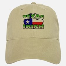Texas Irish Shamrock Baseball Baseball Cap