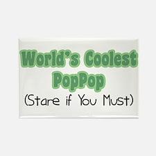 World's Coolest PopPop Rectangle Magnet