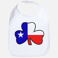 Texas Flag Shamrock Shamrock Bib