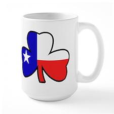 Texas Flag Shamrock Shamrock Mug