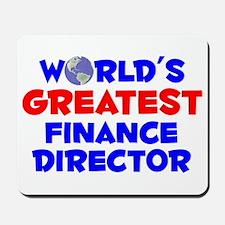 World's Greatest Finan.. (A) Mousepad
