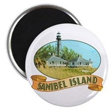Sanibel Lighthouse - Magnet