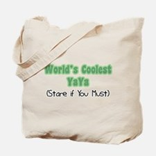 World's Coolest YaYa Tote Bag