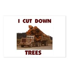 LOGGER Postcards (Package of 8)