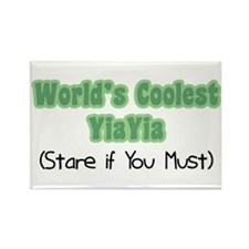 World's Coolest YiaYia Rectangle Magnet