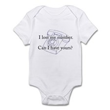 I Lost My Number, Can I Borro Infant Bodysuit