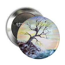 """Coastal Tree"" 2.25"" Button"