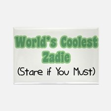 World's Coolest Zadie Rectangle Magnet