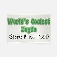 World's Coolest Zayde Rectangle Magnet