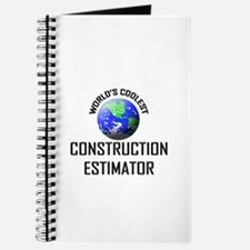 World's Coolest CONSTRUCTION ESTIMATOR Journal