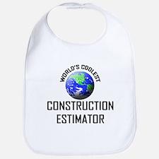 World's Coolest CONSTRUCTION ESTIMATOR Bib