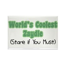 World's Coolest Zaydie Rectangle Magnet