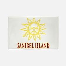 Sanibel Sol Rectangle Magnet