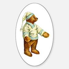 TEDDY BEAR Oval Decal