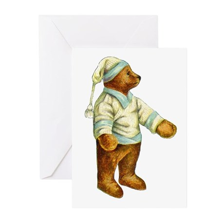 TEDDY BEAR Greeting Cards (Pk of 10)