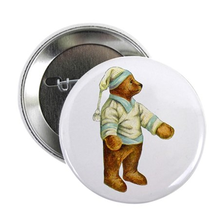 "TEDDY BEAR 2.25"" Button"