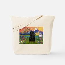 Puli in Fantasy Land Tote Bag