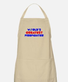 World's Greatest Firef.. (A) BBQ Apron