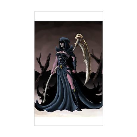 Fem Reaper Rectangle Sticker