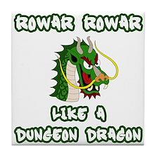 Dungeon Dragon Tile Coaster
