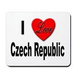 I Love Czech Republic Mousepad
