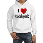 I Love Czech Republic (Front) Hooded Sweatshirt