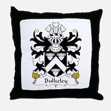 Bulkeley (of Anglesey) Throw Pillow