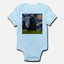Starry Night (Van Gogh) & Puli Infant Bodysuit