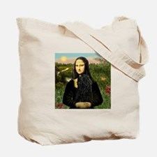 Mona Lisa (new) & Puli Tote Bag