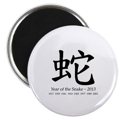 Year of the Snake Chinese Character Magnet