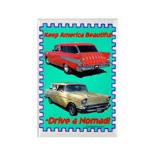 """""""Drive a Nomad"""" Rectangle Magnet"""