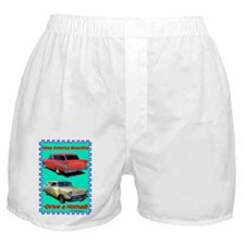 """""""Drive a Nomad"""" Boxer Shorts"""