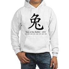 Year of the Rabbit Chinese Jumper Hoody