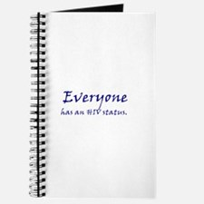 EVERYONE HAS AN HIV STATUS Journal
