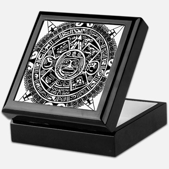 Aztec Keepsake Box