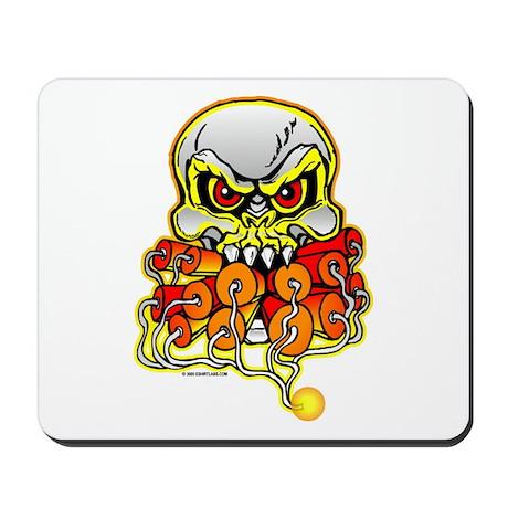 Dynamite Skull Mousepad