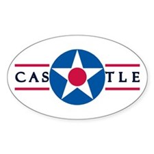 Castle Air Force Base Oval Decal