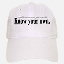 KNOW YOUR OWN Baseball Baseball Cap