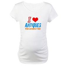 i love Antiques Shirt