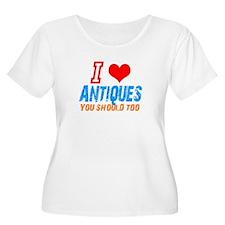 i love Antiques T-Shirt