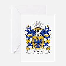 Blewett (Lords of Raglan) Greeting Card