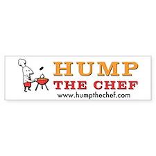 Hump The Chef Bumper Bumper Sticker
