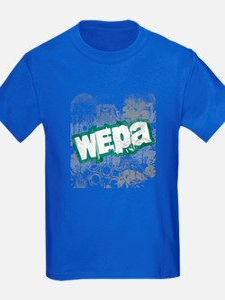 Wepa! Grunge Kids Royal Blue T-Shirt