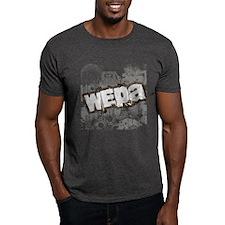 Wepa! Grunge Charcoal T-Shirt