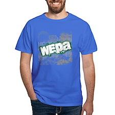 Wepa! Grunge Royal Blue T-Shirt