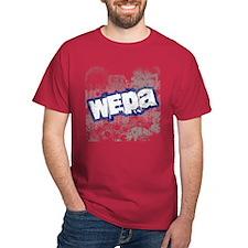 Wepa! Grunge Cardinal T-Shirt
