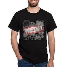 Wepa! Grunge Black T-Shirt